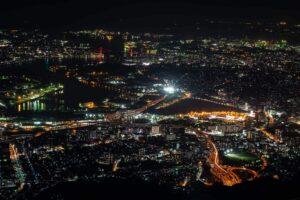 北九州市.日本三大夜景.皿倉山